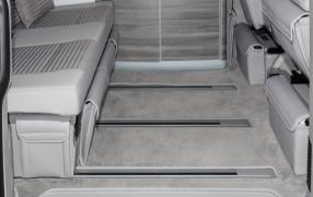 Fußmatten Schmutzfangmatte Automatten VW T5 Bus Caravelle Trendline Bulli