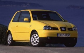HMK TitleCarMatsBefore Seat Arosa.