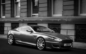 HMK TitleCarMatsBefore Aston Martin  DB9.