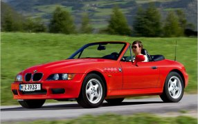 HMK TitleCarMatsBefore BMW Z3.