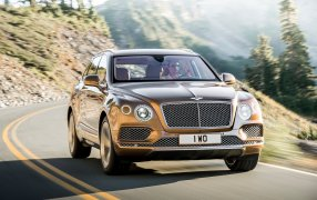 HMK TitleCarMatsBefore Bentley Bentayga.