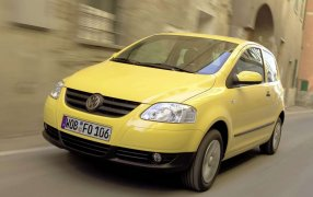 HMK TitleCarMatsBefore Volkswagen Fox.