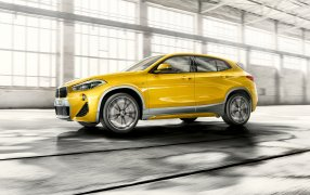 HMK TitleCarMatsBefore BMW X2.