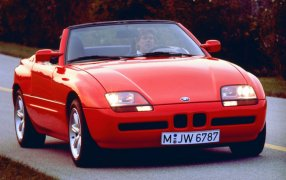 HMK TitleCarMatsBefore BMW Z1.