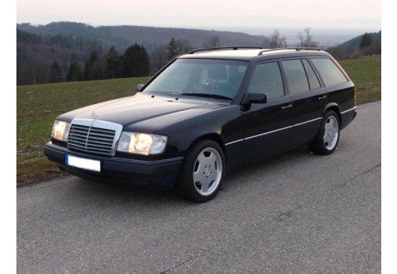 Kofferraummatte Fußmatte Mercedes E-Klasse W124 KOMBI Original Qualität Velours