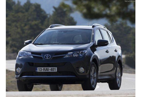 Toyota Rav4 IV - EXTRA 2013 - ... Velours Fußmatten // Autoteppich