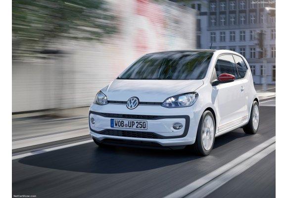 Passform-Velours-Fußmatten für VW Up mit Befestigungen