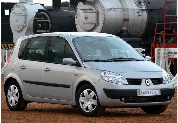 2003-2009 - EXTRA Velours Fußmatten // Autoteppich Renault Scenic II