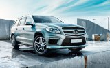 HMK TitleCarMatsBefore Mercedes GL.